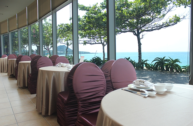 Mediterranean Banquet Hall Taiwan Kenting Chateau Beach Resort