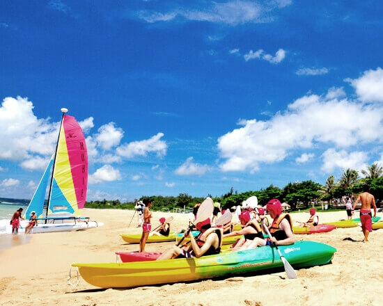 Kayak Taiwan Kenting Chateau Beach Resort